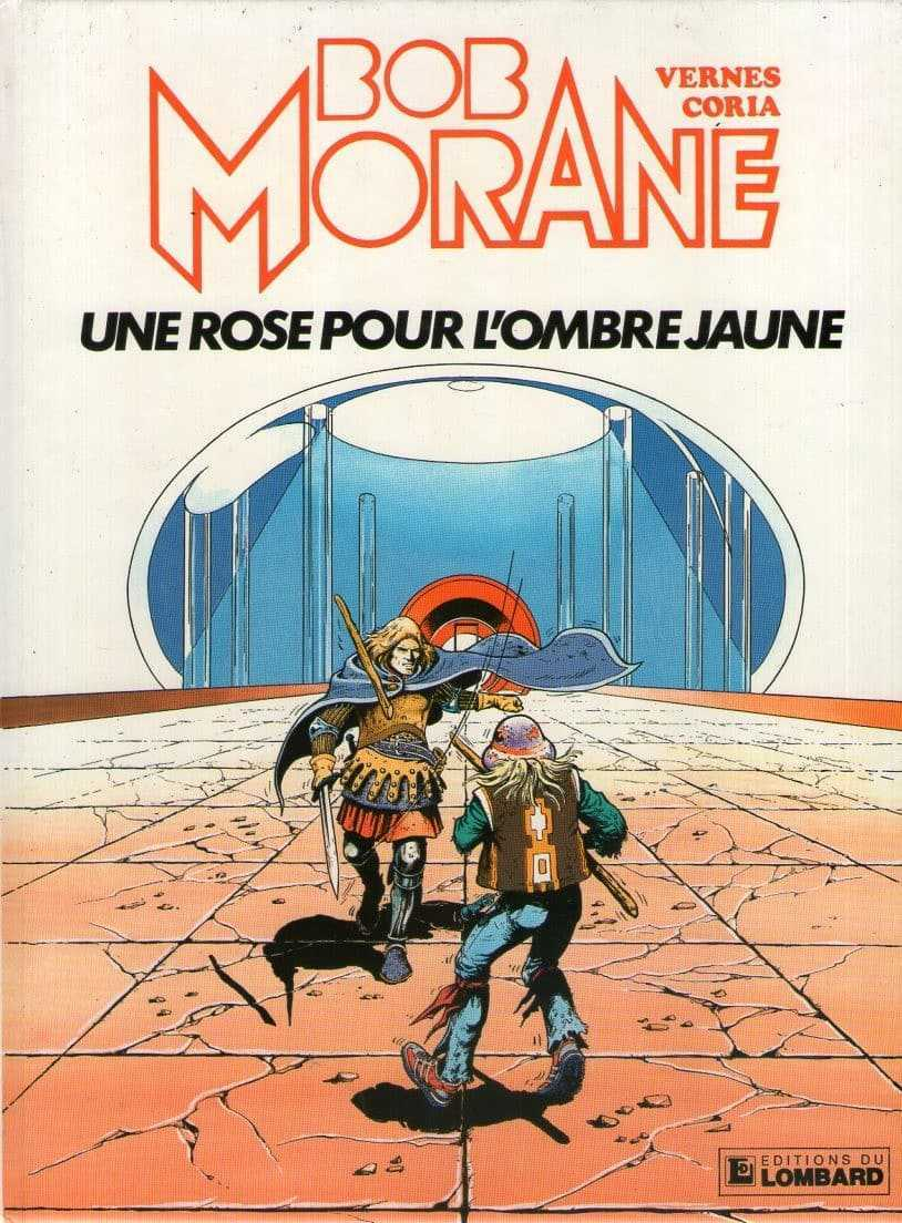 Bob Morane et Coria à la galerie Napoléon