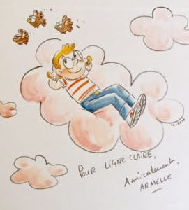 Dédicace d'Armelle Drouin