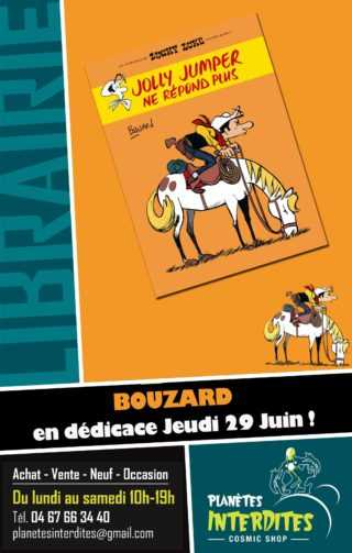 Guillaume Bouzard en dédicace