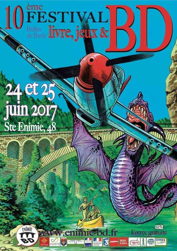 Sainte-Enimie 2017, BD plaisir et deux prix à décerner les 24 et 25 juin