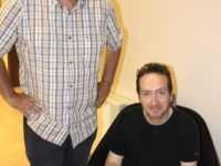 Stephen Desberg et Henri Reculé à Lyon. JLT ®