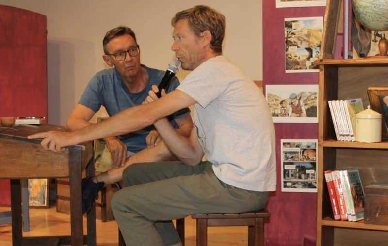 Jean-laurent Truc et Eric Hübsch