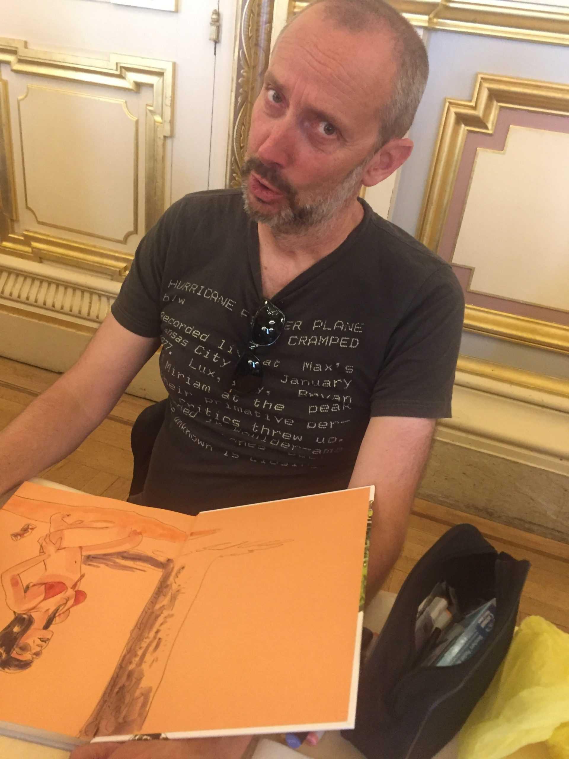Jean-Christophe Chauzy chez Azimuts le 1er juillet à Montpellier