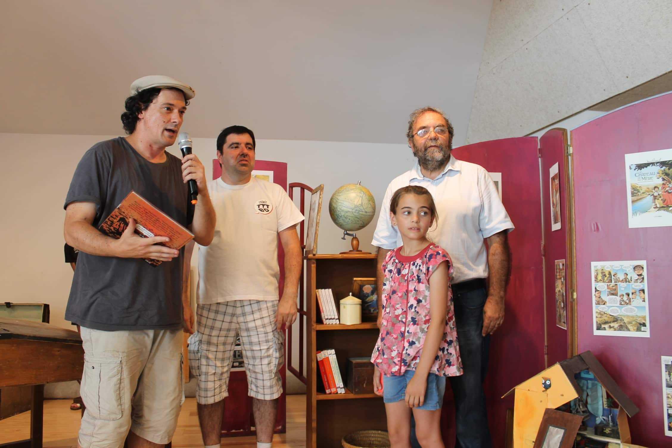 Sainte-Enimie 2017, le prix Canoë Kid à Augel pour Zoostrip