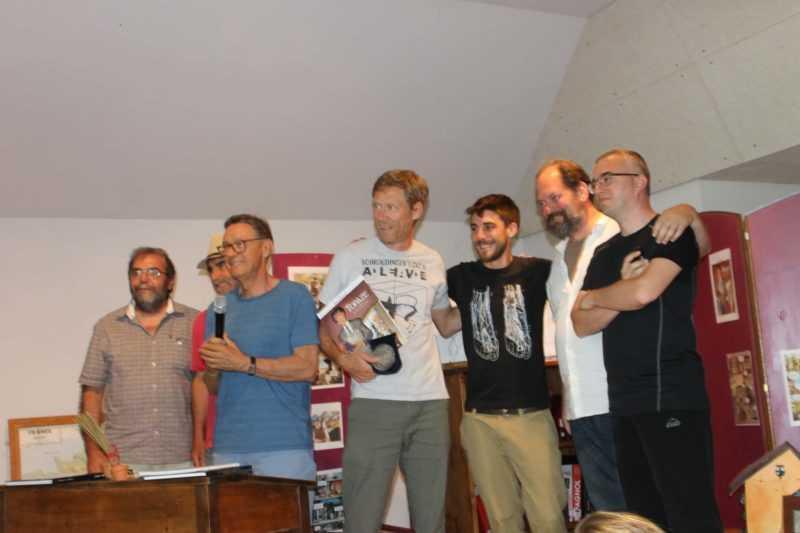 Eric Hübsch, Mathieu Bertrand, Philippe Bringel et Milan Jovanović