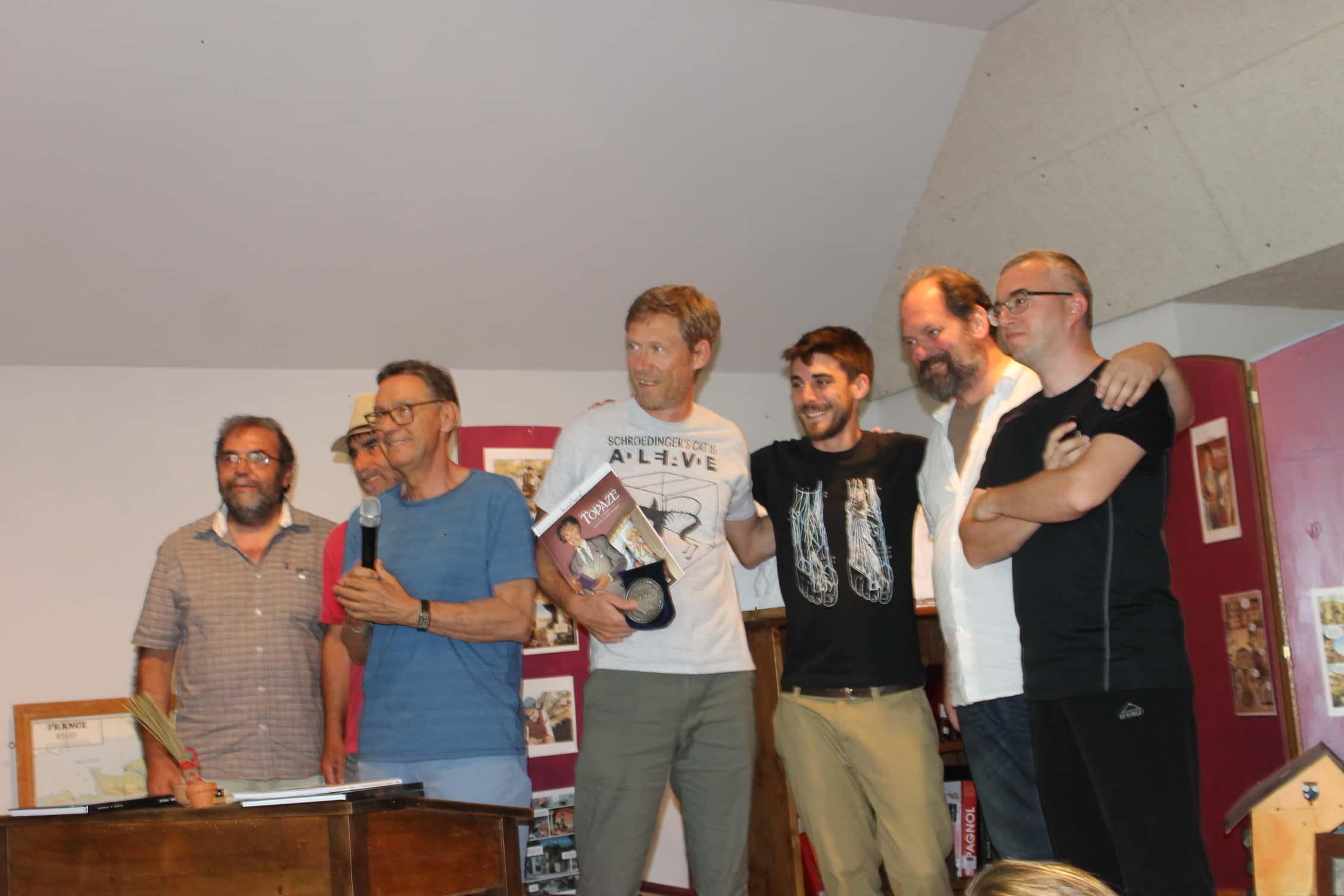 Festival de Sainte-Enimie, Eric Hübsch grand prix 2017 pour Topaze