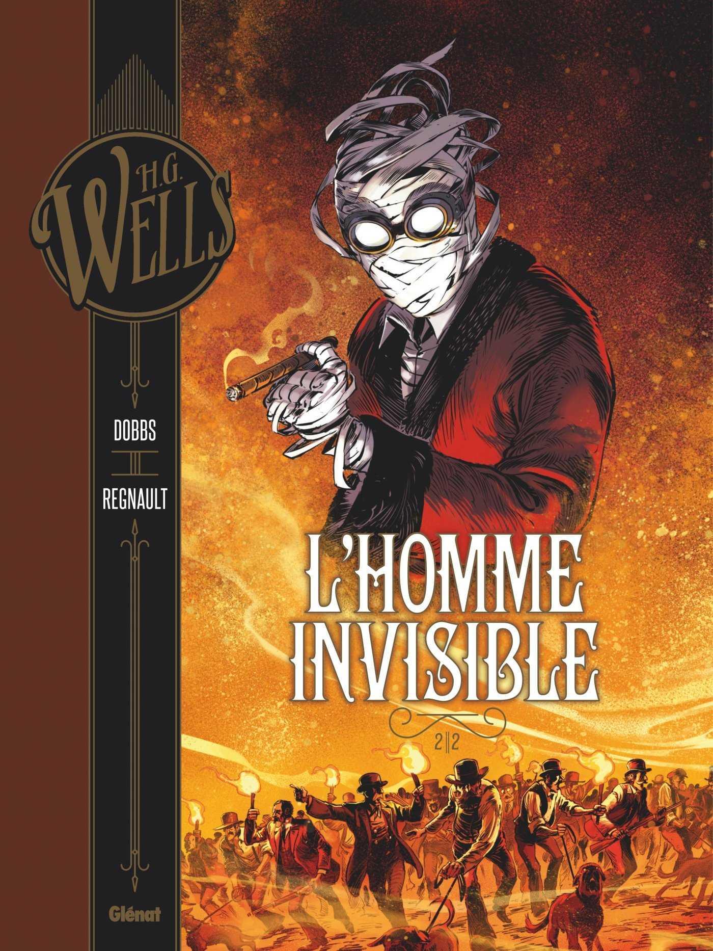Homme invisible tome 2 et Docteur Moreau, la collection Wells s'étoffe