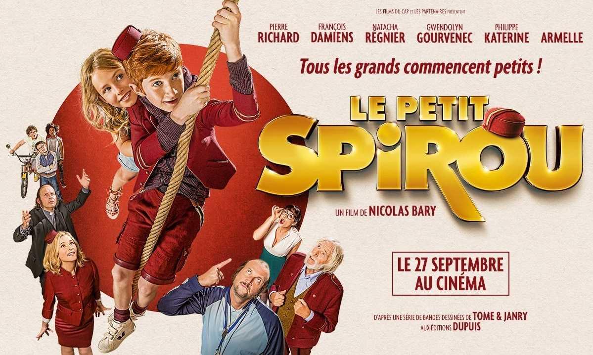 Le Petit Spirou sur grand écran le 27 septembre