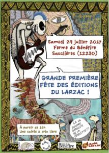 Fête des Éditions du Larzac