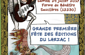 Les éditions du Larzac font la fête le 29 juillet