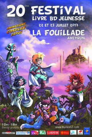 Festival BD de La Fouillade 2017
