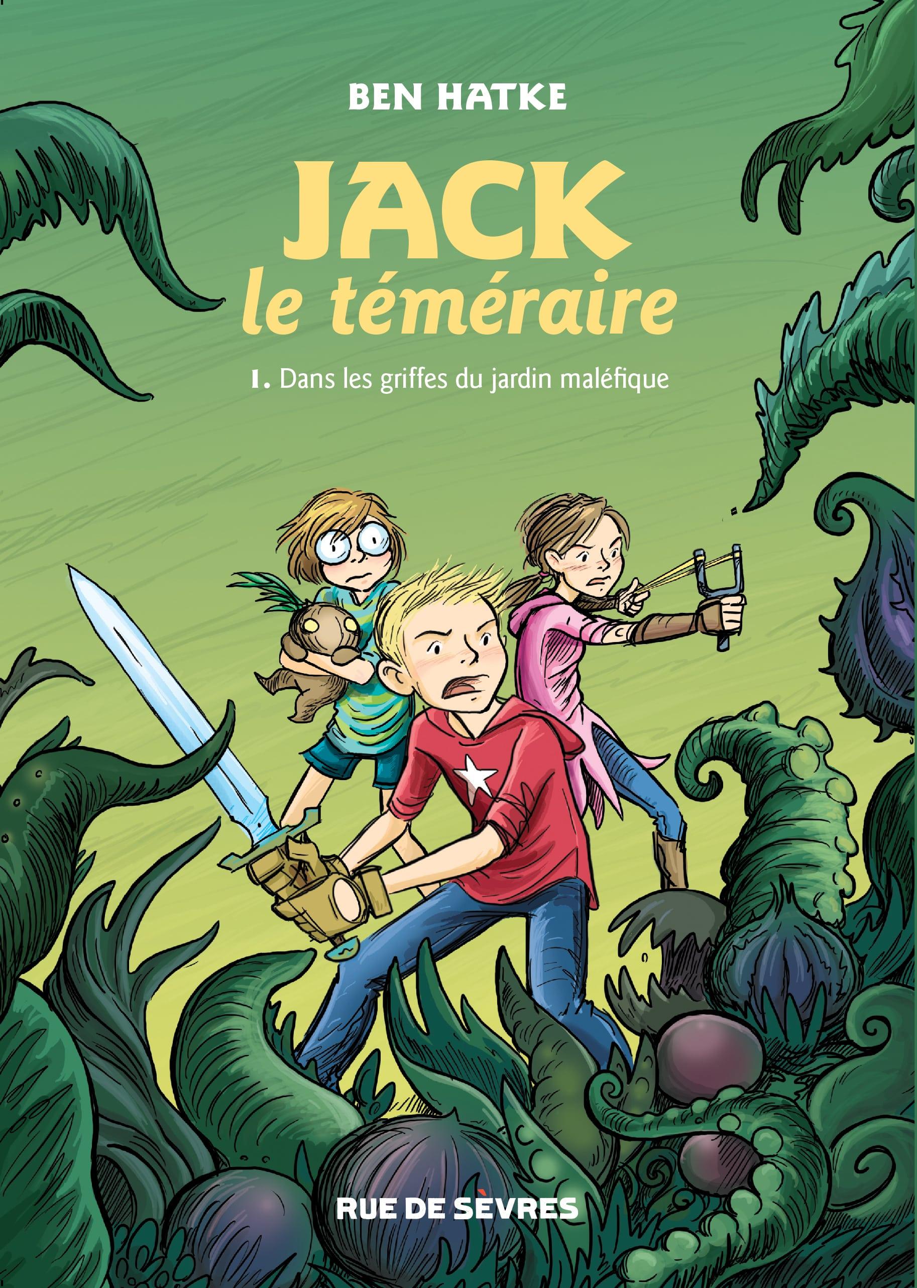 Jack le téméraire, au pays des fleurs magiques