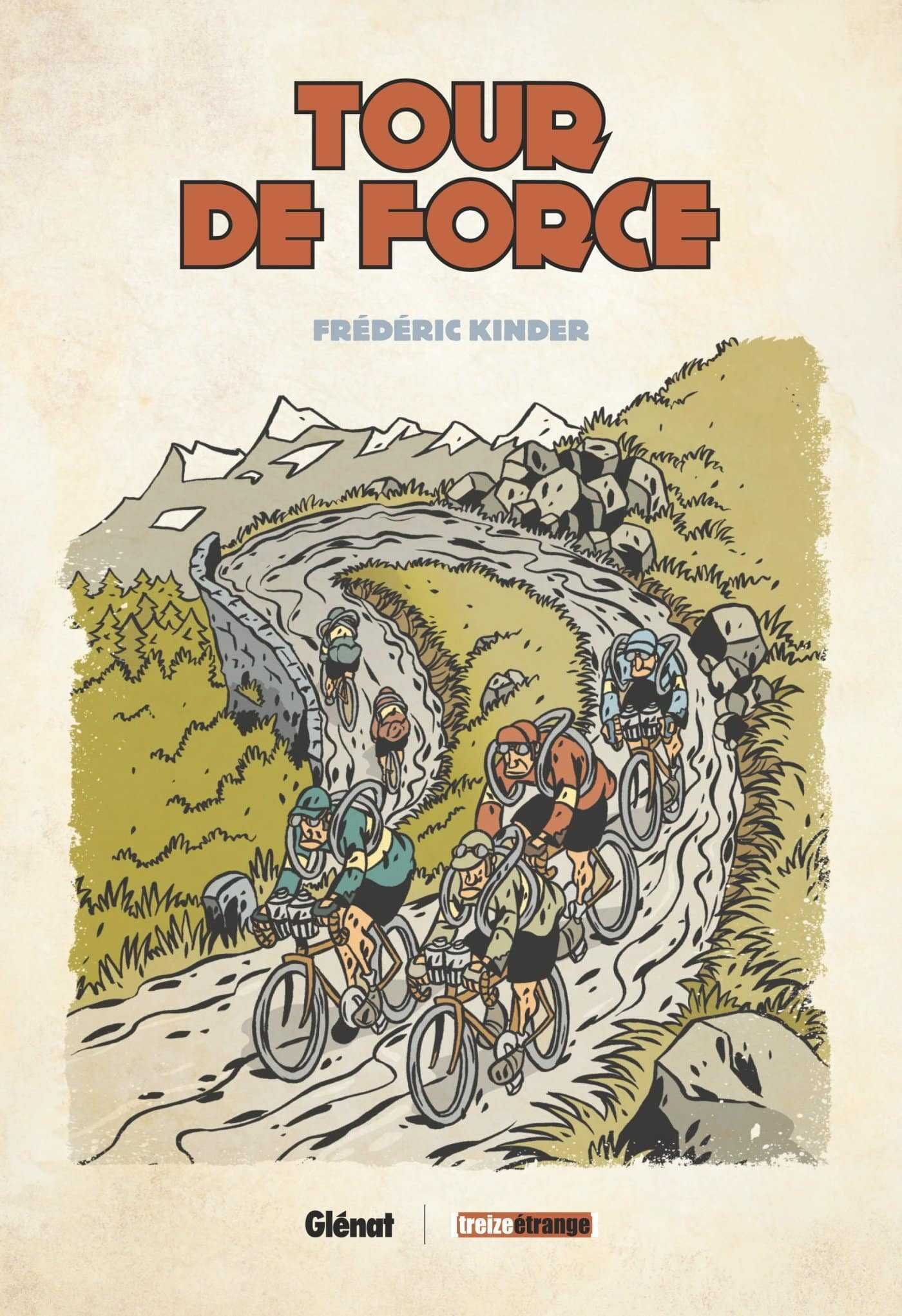 Tour de Force et de France à bicyclette