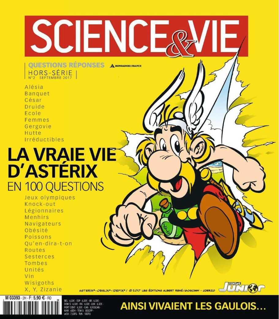 La vraie vie d'Astérix, Science & Vie dit tout