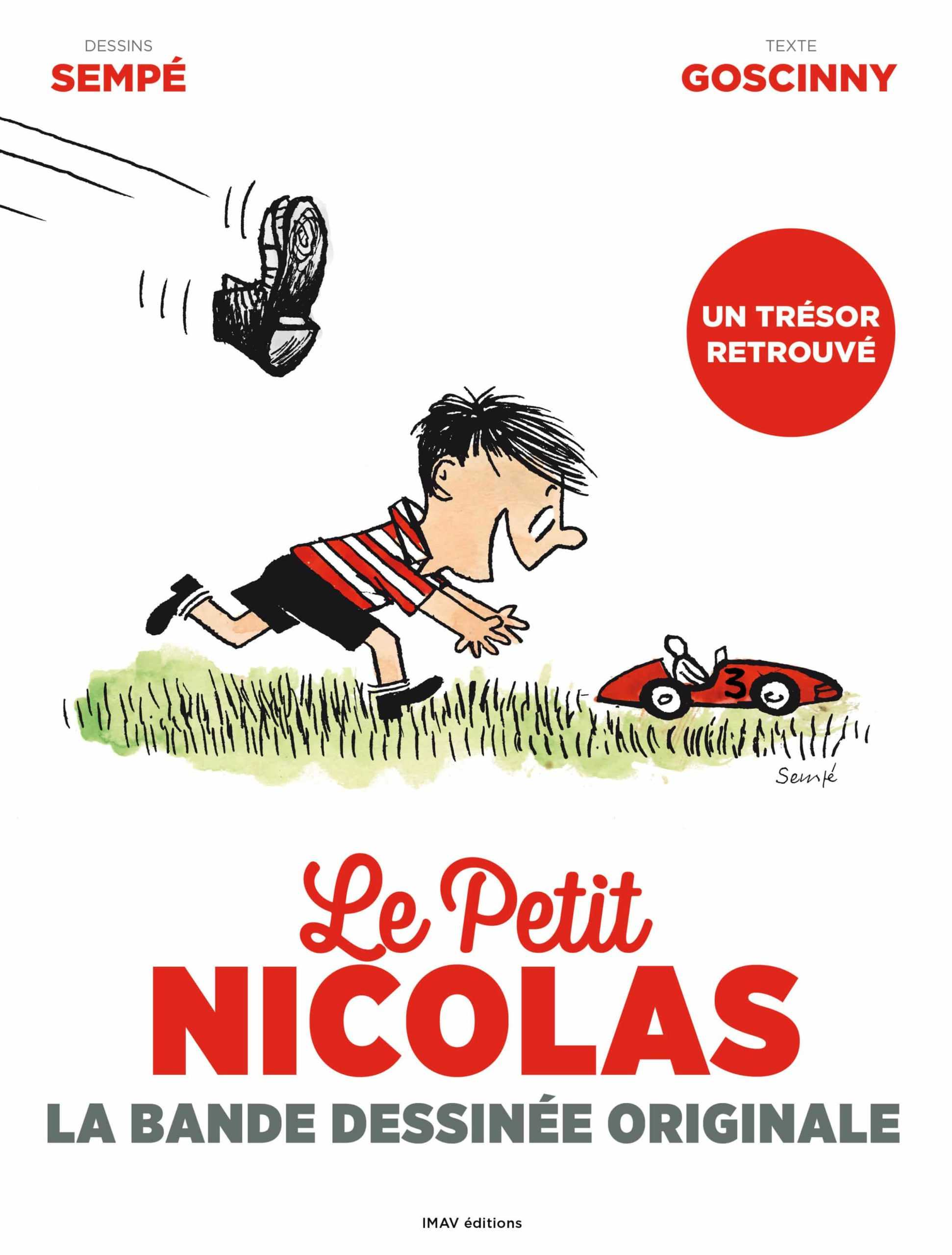Le Petit Nicolas, la version originale en couleur
