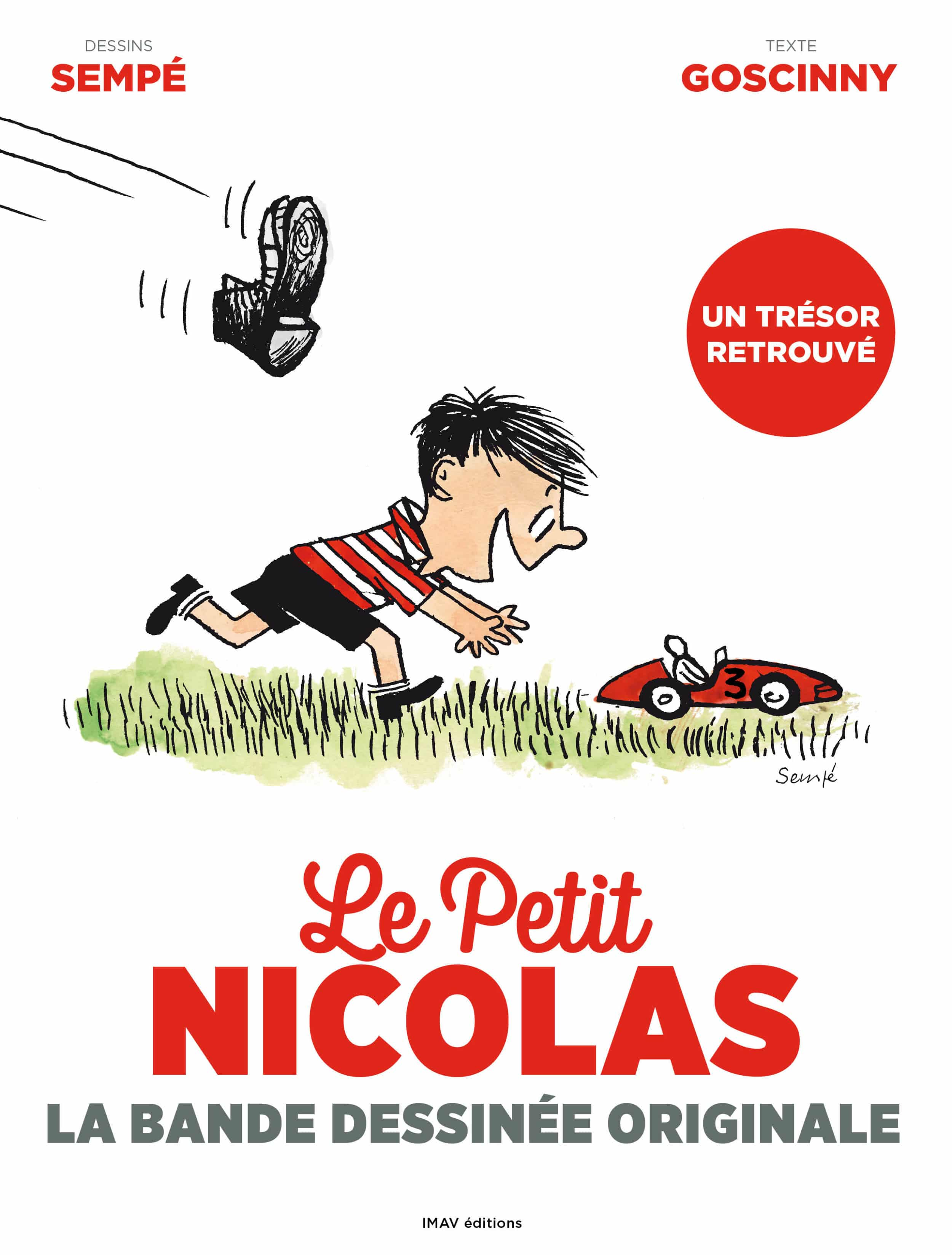 Les débuts du Petit Nicolas, héros de BD
