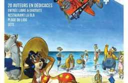 BD Plage à Sète, tous les auteurs pour les 26 et 27 août