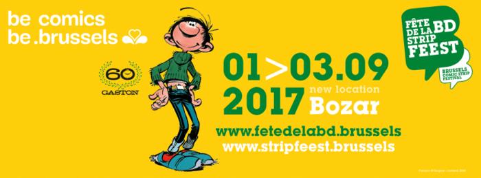 Fête de la BD 2017 à Bruxelles