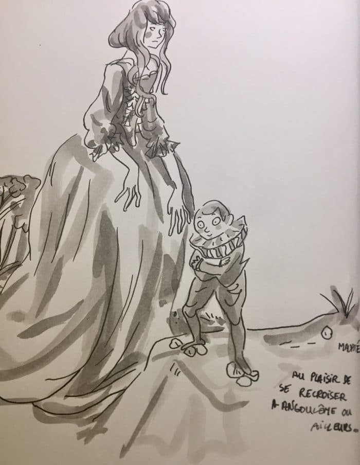 Dédicace d'Agnès Maupré