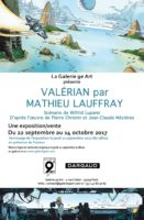 Mathieu Lauffray expose son Valérian galerie du 9e Art