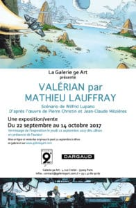 Valérian par Mathieu Lauffray