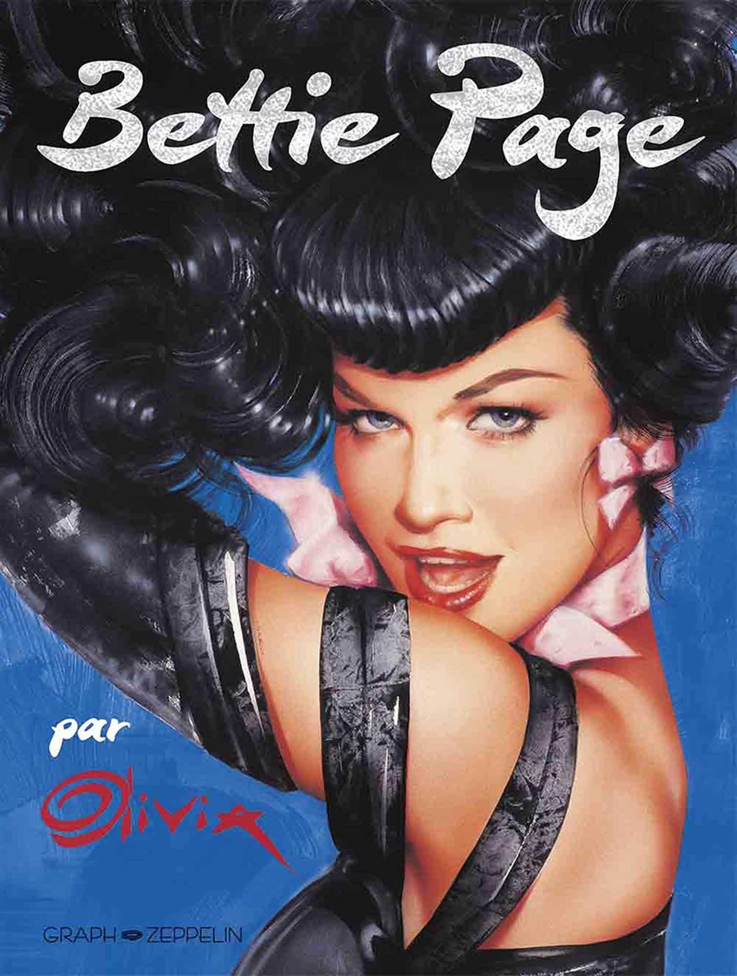 Bettie Page, la pin-up mythique par Berardinis