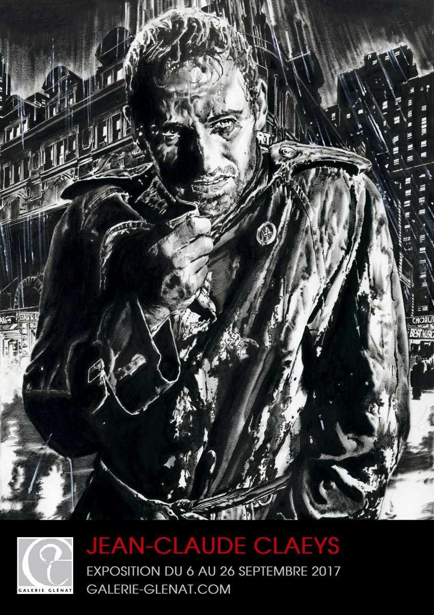 Jean-Claude Claeys, maître du polar noir, expose galerie Glénat dès le 6 septembre à Paris