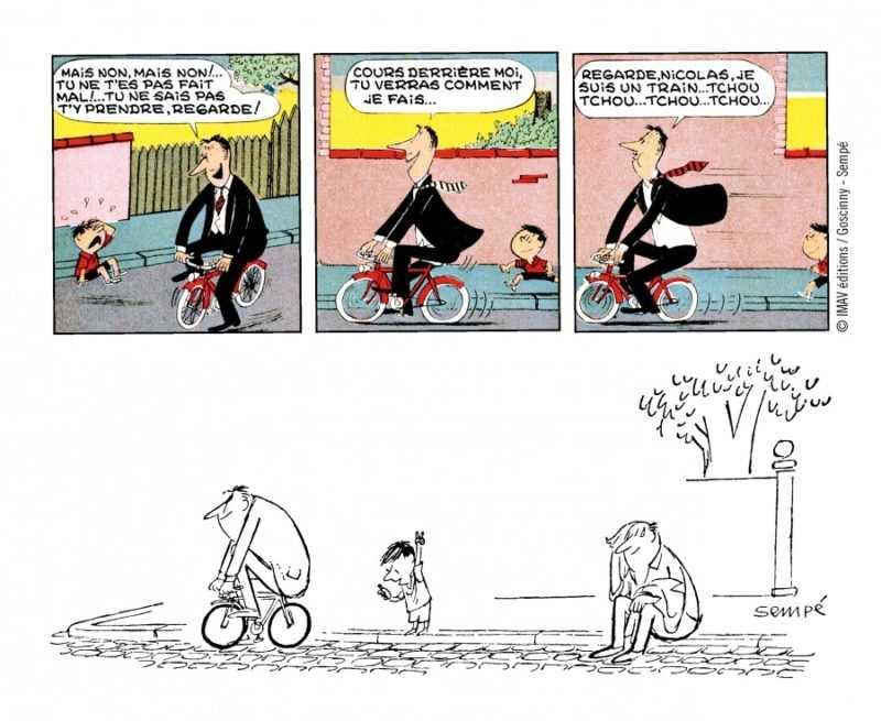 La bande dessinée originale