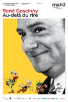 René Goscinny, au-delà du rire c'est à Paris du 27 septembre au 4 mars au mahJ