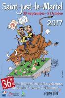 Caricature, dessin de presse et d'humour, 36e édition du salon de Saint-Just-le-Martel