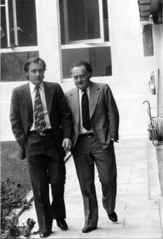 Albert Uderzo et René Goscinny