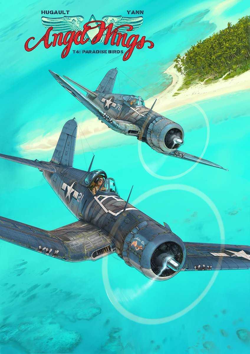 Angel Wings T4, mission secrète dans le Pacifique avec Romain Hugault