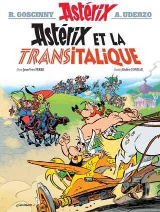 Astérix et la Transitalique, c'est parti