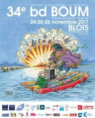 Les 15 albums sélectionnés pour choisir à BD Boum Blois les cinq finalistes du Grand prix des critiques 2018