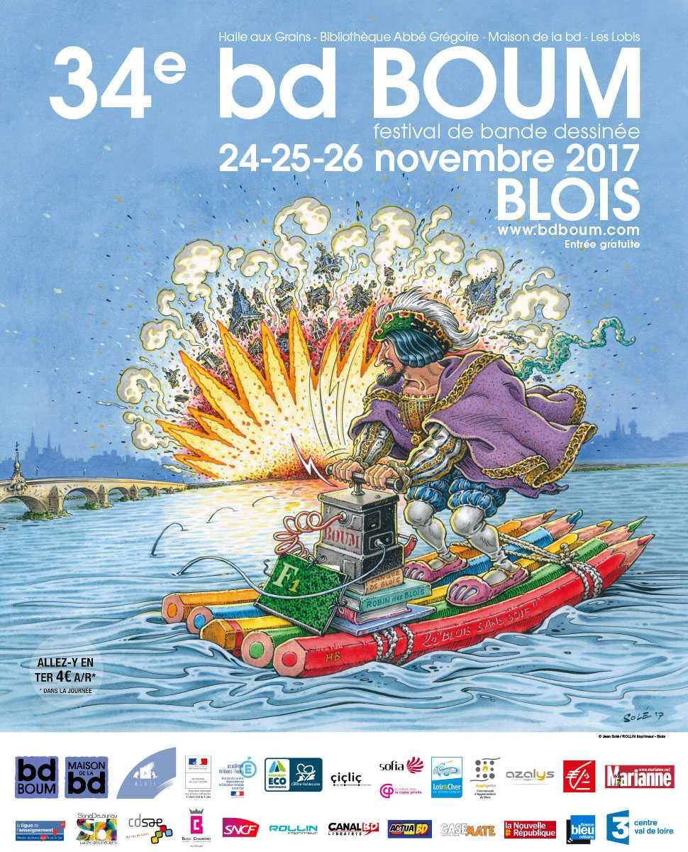 BD Boum 2017, plus de 200 auteurs et des expos en nombre du 24 au 26 novembre