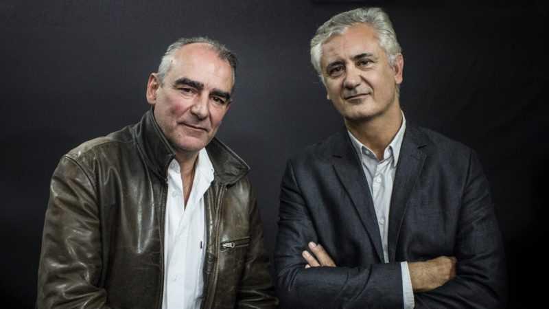 Philippe Francq et Eric Giacometti