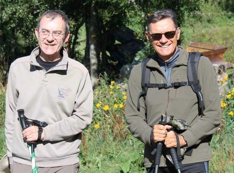 Patrick Jusseaume et Jean-Laurent Truc