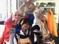 Cosplay avec Yuki, Atsuhiko et Sawi. JLT®
