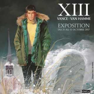 Exposition éphémère XIII avec Vance et Van Hamme à Paris jusqu'au 18 novembre