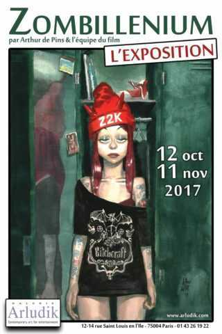 Avant la sortie du film, Zombillénium s'expose chez Arludik à Paris