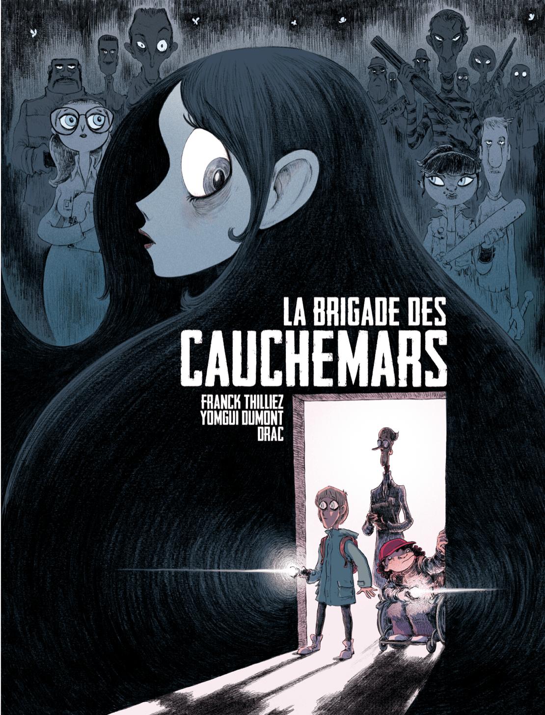 La Brigade des Cauchemars, Franck Thilliez débute dans la nouvelle série Frissons