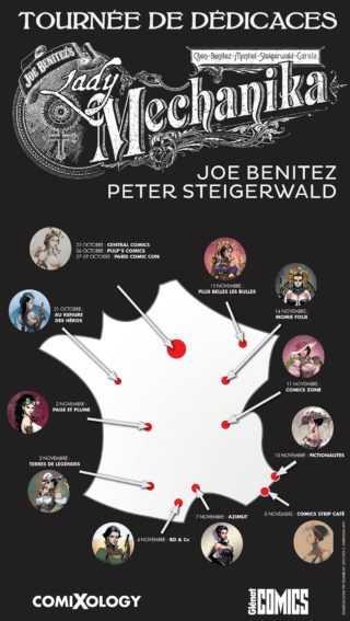 Joe Benitez et Peter Steigerwald en dédicaces