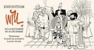 Exposition Will chez Maghen, de Tif et Tondu à Isabelle et à Mirages sa biographie