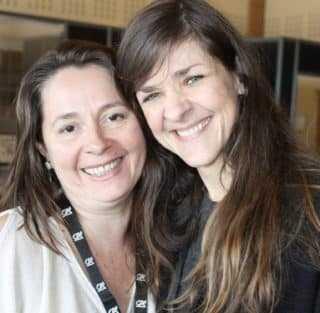 Virginie Greiner et Daphné Collignon
