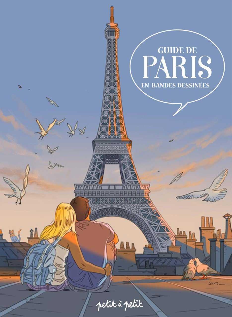 Guide de Paris en BD, la capitale en bulles