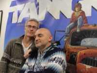 Philippe Xavier et Matz sur fond de Tango. JLT ®