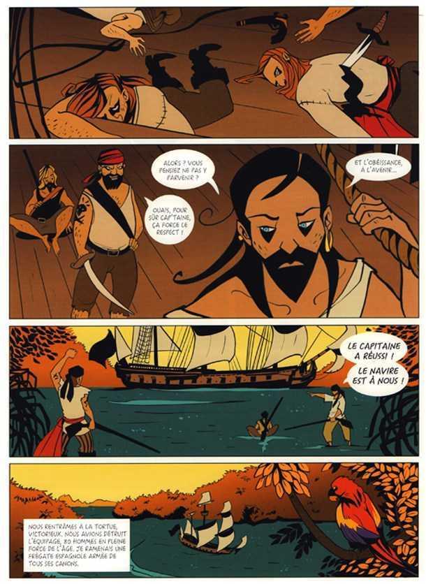 Journal d'un pirate des Caraïbes