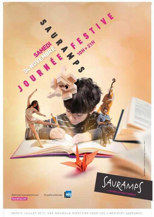 Sauramps fait la fête le 4 novembre dans toutes ses librairies à Montpellier