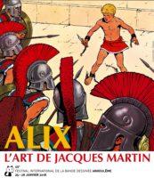 Alix – L'Art de Jacques Martin, l'exposition phare d'Angoulême 2018