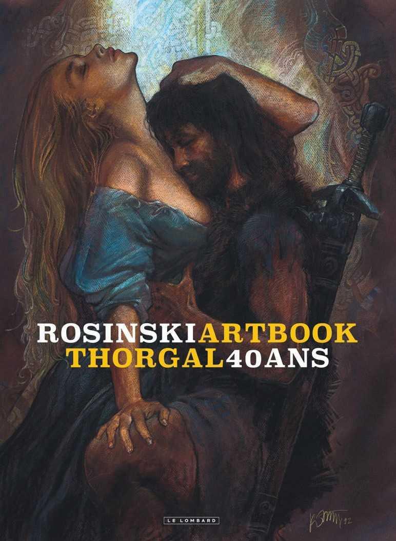 Rosinski, tout un Artbook pour Noël